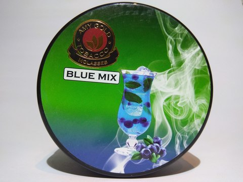 Табак для кальяна AMY GOLD Blue Mix 200 gr