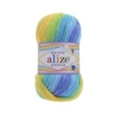 4789 (Синий,бирюза, салатовый,желтый, голубой)