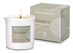 Свеча для массажа Монои (Bruno Vassari | Senses | Massage candle Monoi), 200 г