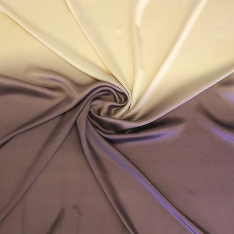 Шелковый платок батик Шоколад со сливками С-86