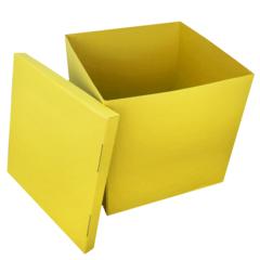 Большая коробка для шаров (желтая) 60*80*80