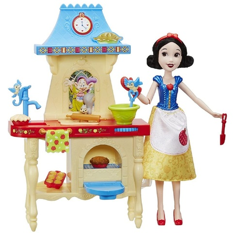 Дисней Принцессы Белоснежка с Кухней