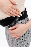 Брюки для беременных 03221 чёрный