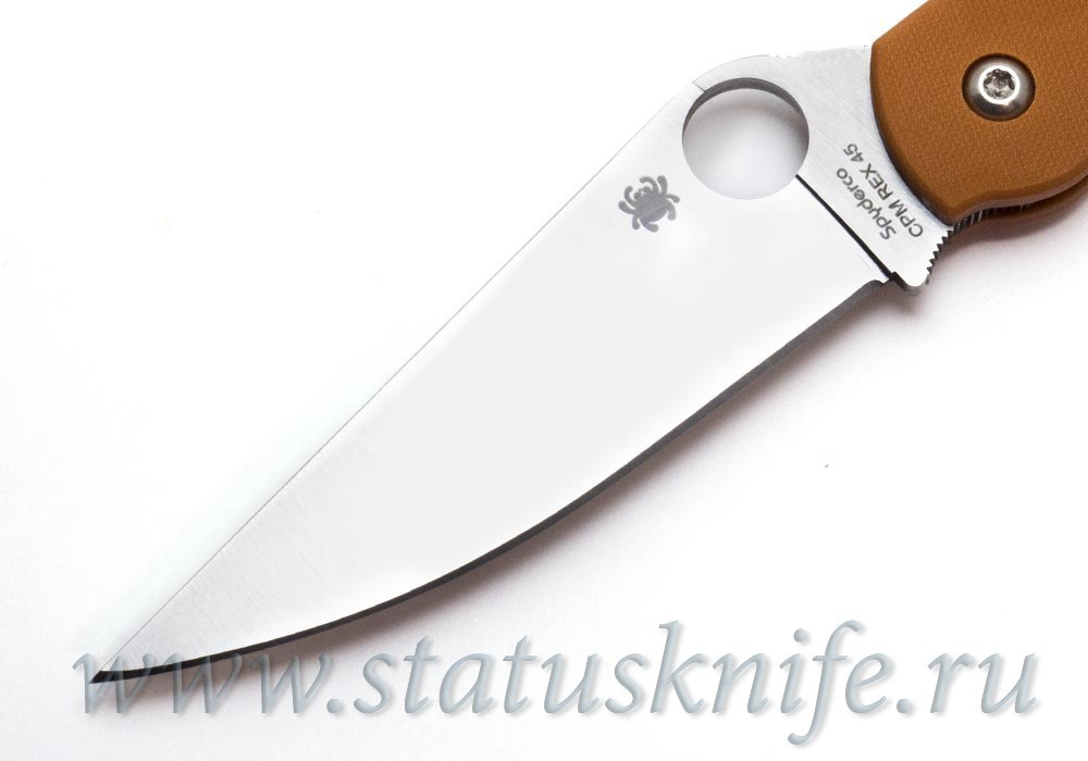 Нож Spyderco Military C36GPBORE REX 45 - фотография