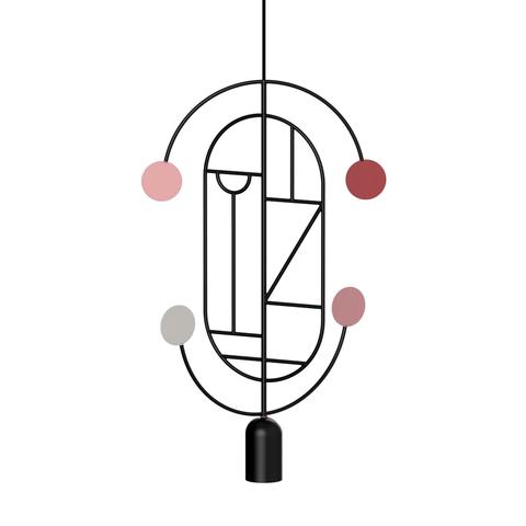 Подвесной светильник копия Lines & Dots LDS04 by Home Adventures