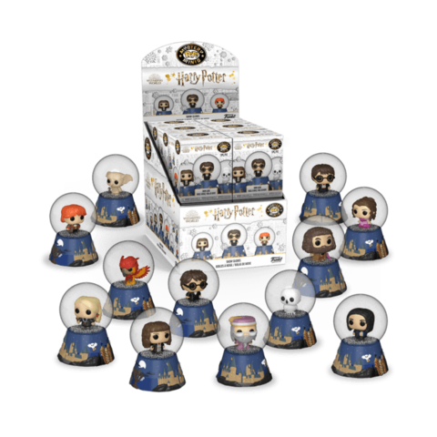 Случайная фигурка Funko POP! Mystery Minis Snow Globes Harry Potter || Гарри Поттер и снежный шар