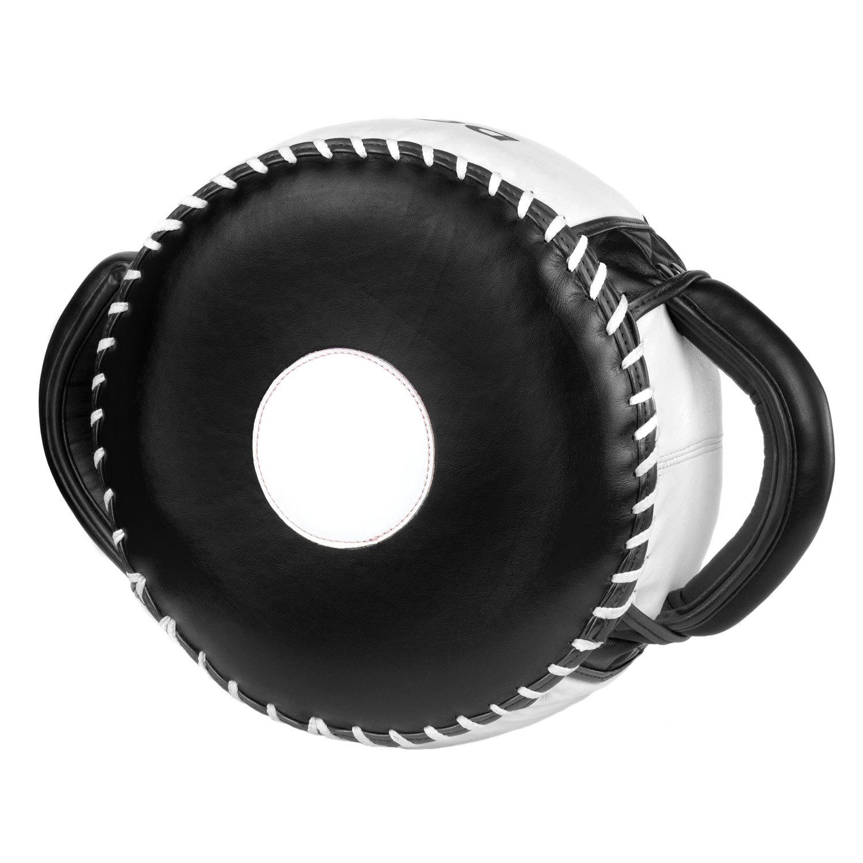 Макивара круглая Dozen Masters Pill черно-белая главный вид