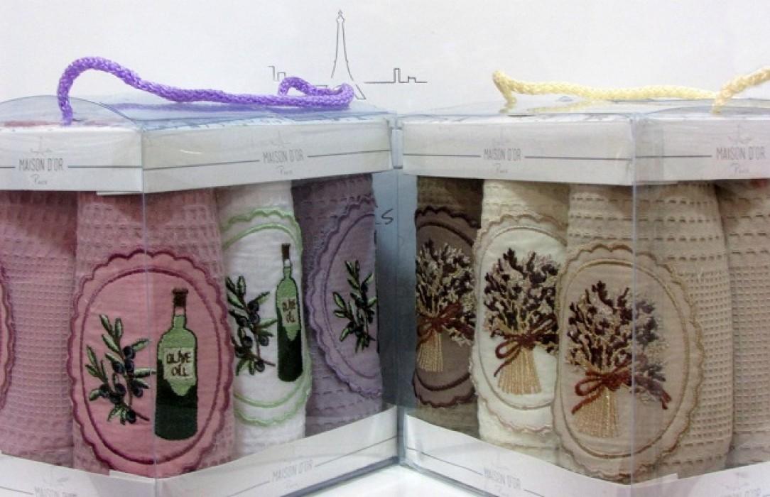 Кухонные полотенца Набор салфеток для кухни  ELITE ЭЛИТЕ  50х70  Maison Dor (Турция) элите_6_шт_111-cr-1084x700.jpg