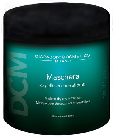DCM Восстанавливающая маска для сухих, истощенных волос с экстрактом цветов лотоса 1000 мл