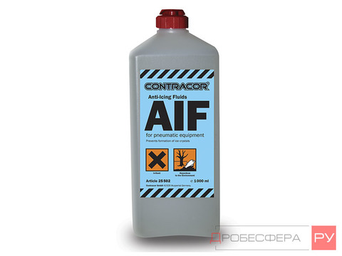 Жидкость противокристалл. для окрасочных аппаратов 0,5л Contracor AIF