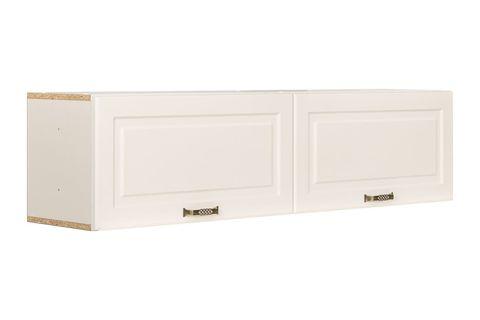 Шкаф навесной Ливерпуль Моби белый/ясень ваниль