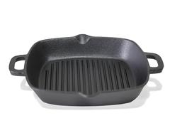 4097 FISSMAN Сковорода гриль чугунная 26 см