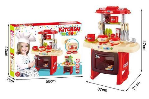 Кухня с аксессуарами, светом и звуком (в коробке), РХ1800-4