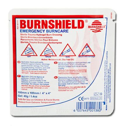 Противоожоговая повязка BurnShield 10х10 см