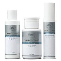 Система OBAGI CLENZIderm M.D. для нормальной и жирной кожи, лечение угревой болезни