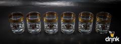 Подарочный набор из 6 хрустальных стаканов для виски «Министерский», 290 мл, фото 3