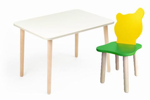 Комплект детской мебели Джери с белым столиком
