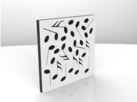 Акустический поролон панель ECHOTON Studio-2 200-1600 Hz