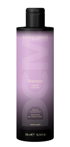 DCM Шампунь для защиты цвета и восстановления окрашенных волос с Keratin Complex 300 мл