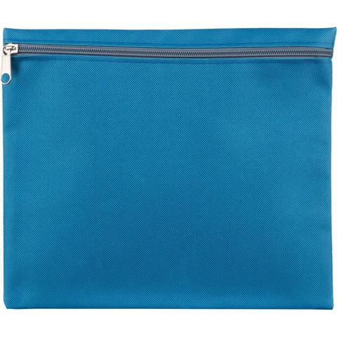 Папка-конверт Attache Fantasy на молнии А5 голубая 0,15 мм