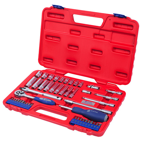 МАСТАК (0-247C) Набор инструментов универсальный, 47 предметов