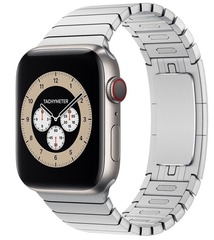 Умные часы Apple Watch Edition Series 6 GPS + Cellular 44mm Titanium Case with Link Bracelet (Silver)