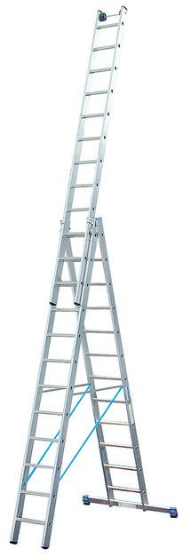 STABILO Универс. лестница их трёх частей, 3 х 14 перекладин