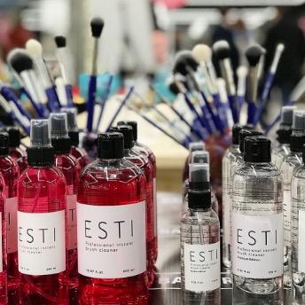 ESSTIR очиститель кистей спиртосодержащий спрей 100мл
