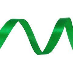 Лента Атлас Зеленый / 7 мм * 22,85 м