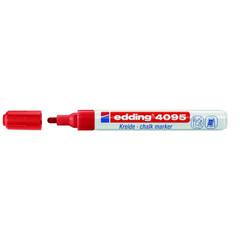 Маркер меловой Edding E-4095 красный 3 мм