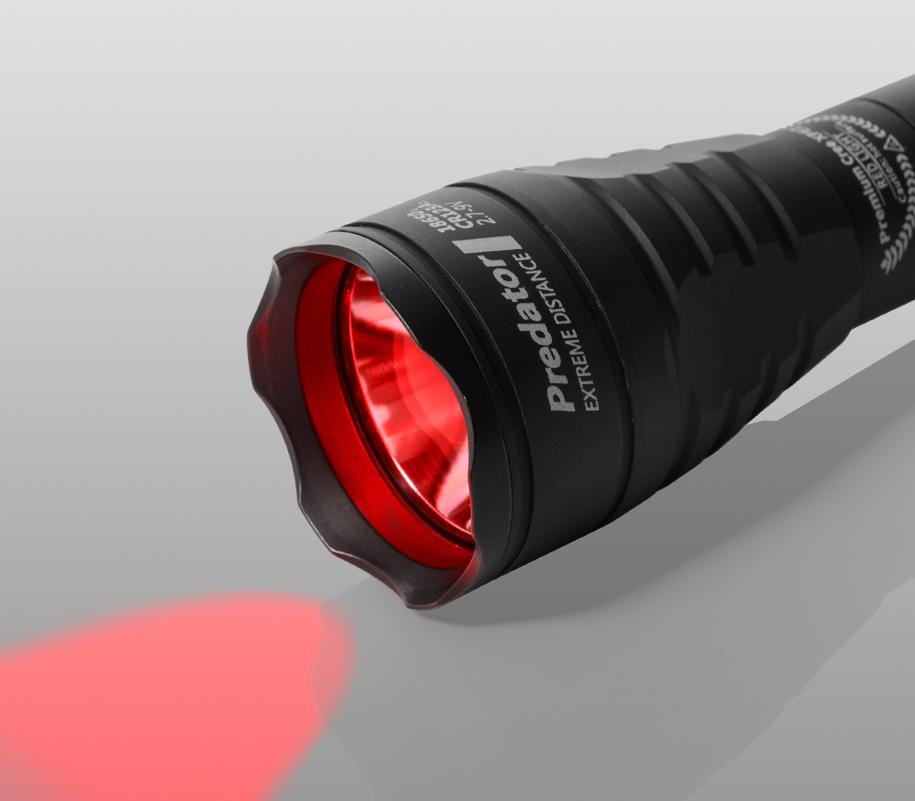Тактический фонарь Armytek Predator (красный свет) - фото 1