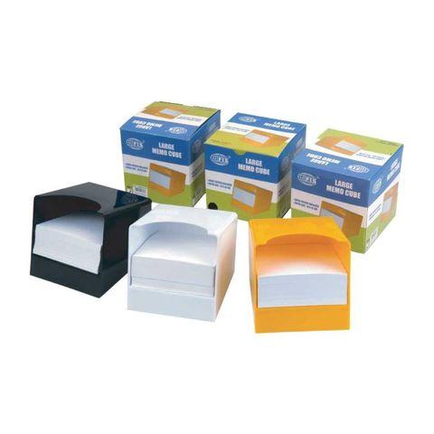 Канцтовары FIS Бумага для записей FSMMTS-WH в пластиковой коробке, белая. - купить в компании MAKtorg