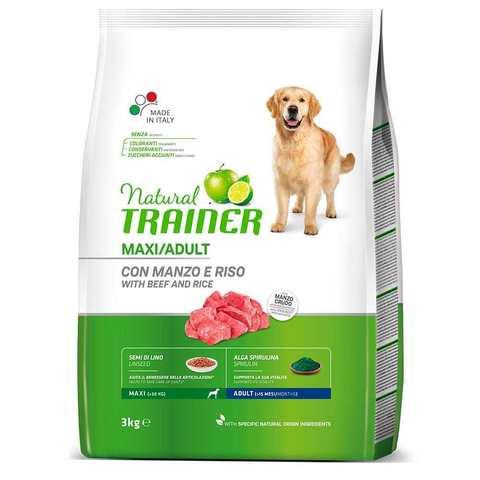 Сухой корм для собак TRAINER говядина, индейка, курица (для крупных пород)
