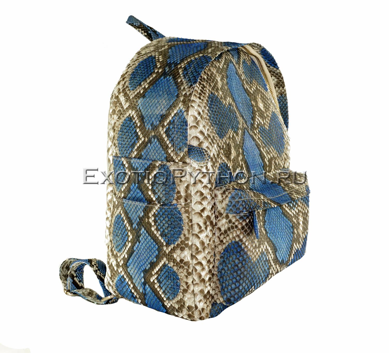 Рюкзак из кожи питона BG-229