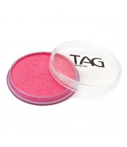 Аквагрим TAG 32гр перламутровый розовый