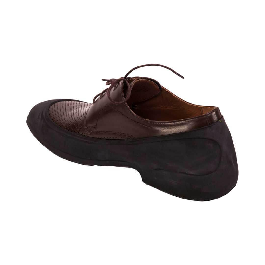 Галоши на обувь с каблуком мужские черные