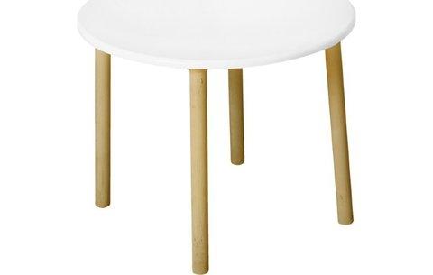 Комплект детской мебели Polini Kids Simple 185 S, белый-натуральный