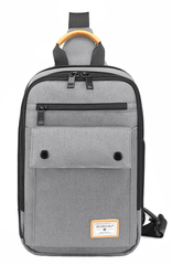 Однолямочный рюкзак Golden Wolf GXB00110 Серый