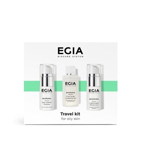 *Дорожный набор №3 для нормальной и сухой кожи (EGIA/BIOPURA/50мл,15мл,15мл/GB-13)