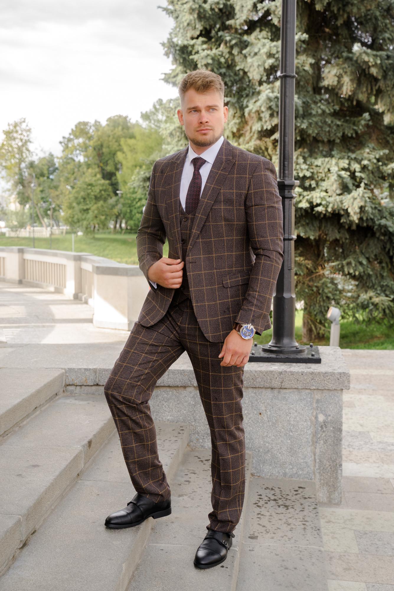 Мужские костюмы оптом Костюм мужской SACO DSC04233.JPG