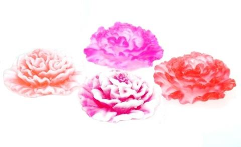 Мыльное ассорти/цветок 3D ГВОЗДИКА, 65g TM ChocoLatte