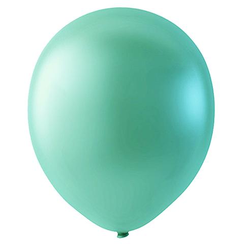 Шар Светло-зеленый Металлик, 30 см