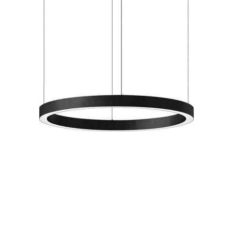 Подвесной светильник копия Light Ring by HENGE D80 (черный)