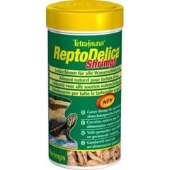Лакомство для водных черепах, Tetra ReptoMin Delica Shrimps, креветки