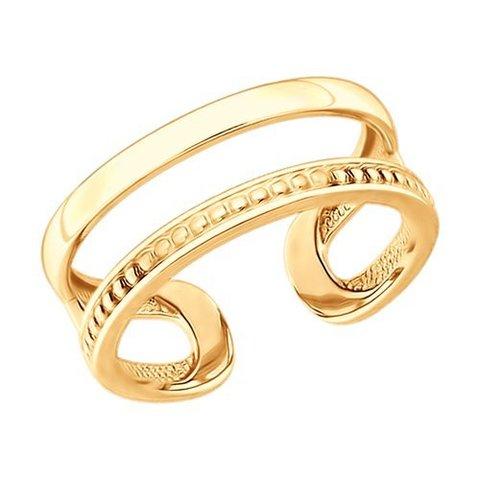 93010869 - Кольцо из золочёного серебра на фалангу/на палец ноги