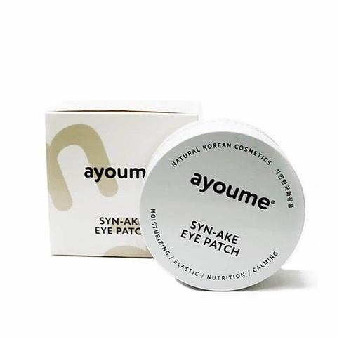 Патчи для глаз антивозрастные со змеиным пептидом AYOUME SYN-AKE EYE PATCH