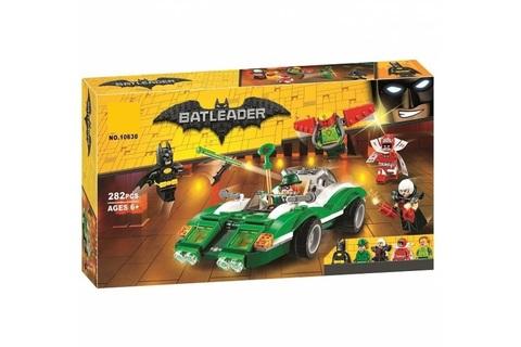Конструктор Supreme Heroes Batman Гоночный автомобиль Загадочника 10630, 282 дет.