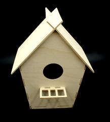 057-3527 Скворечник (большой), деревянный