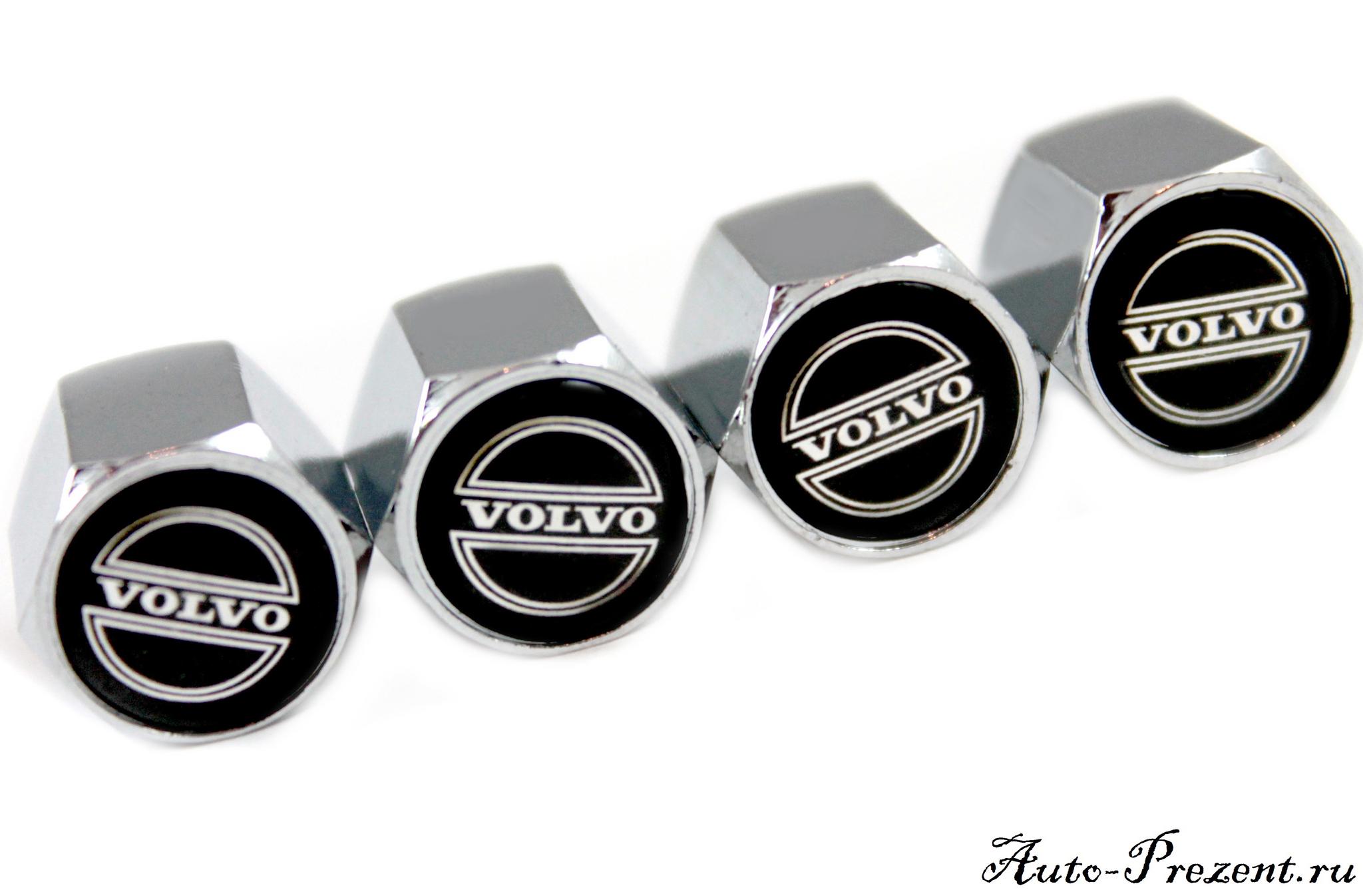 Колпачки на ниппель с логотипом VOLVO