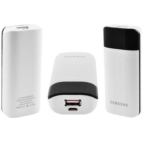 Power Bank Samsung 6000mAh USB(1A), индикатор заряда (138)